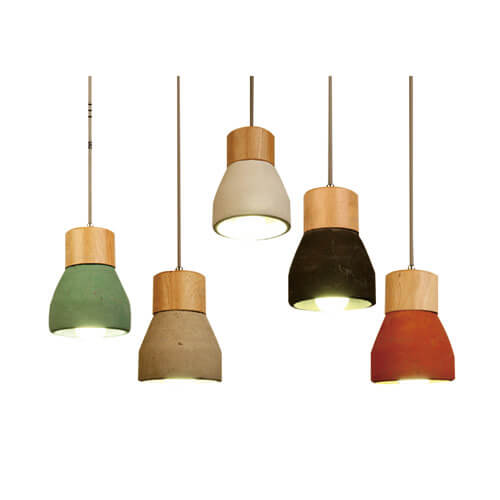Concrete Pendant Light PC301-A