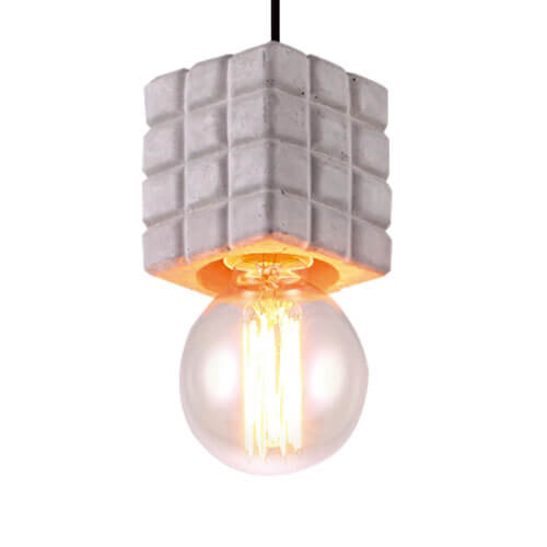 Concrete Pendant Light PC313