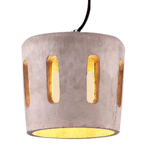 Concrete Pendant Light PC314