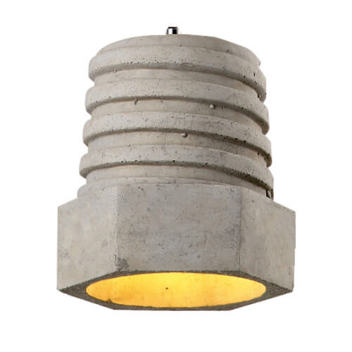 Concrete Pendant Light PC315A.315B