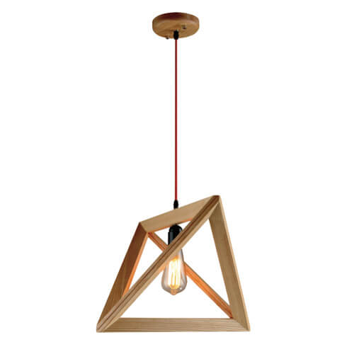 Wood Pendant Light WZL010