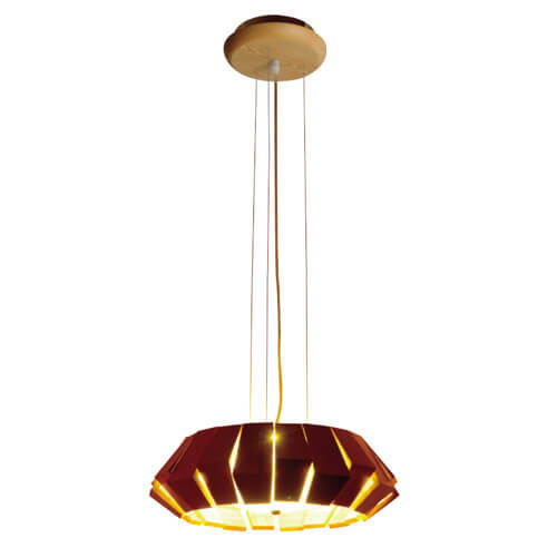Wood Pendant Light WZL022