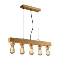 Wood Pendant Light WZL025