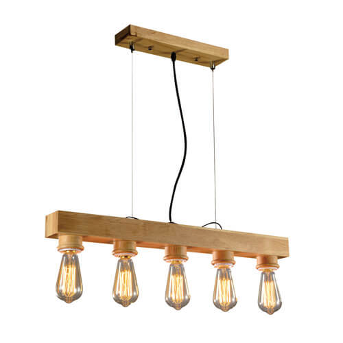 Wood Pendant Light WZL025