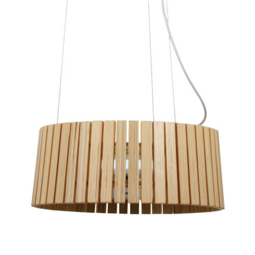 Wood Pendant Light WZL030