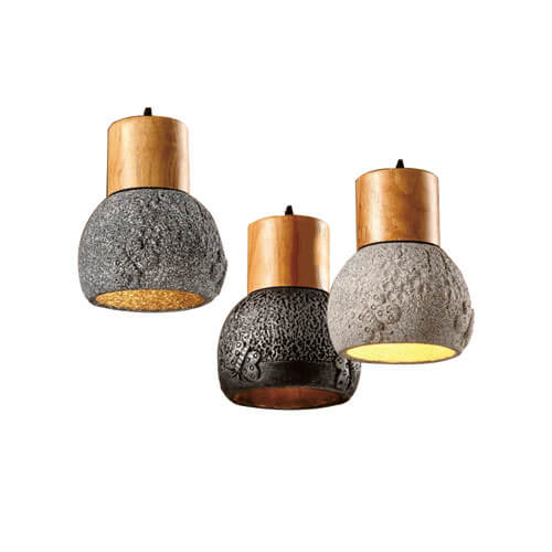 Concrete Pendant Light PC307-A.B.C.