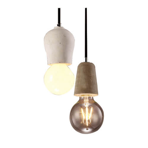 Concrete Pendant Light PC310. PC311.