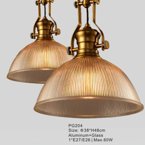 Glass Pendant Light PG204