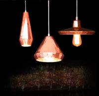 Glass Pendant Light (Pink) -PG209A/B/C