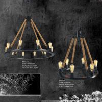 Hemp Rope Pendant Light PH711/713
