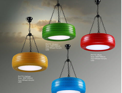 Hemp Rope Pendant Light PH772