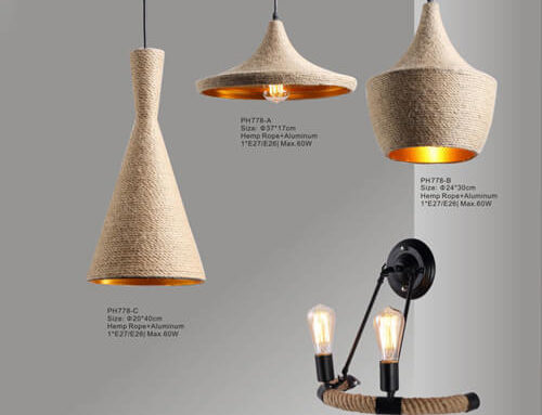 Hemp Rope Pendant Light PH777/778