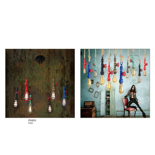 Pipe Pendant Light PS805