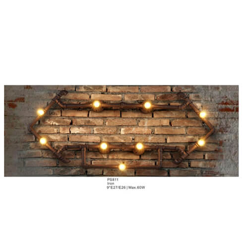 Pipe Pendant Light PS811-804