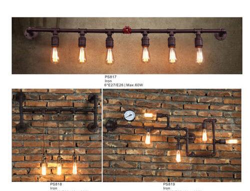 Pipe Pendant Light PS817-819