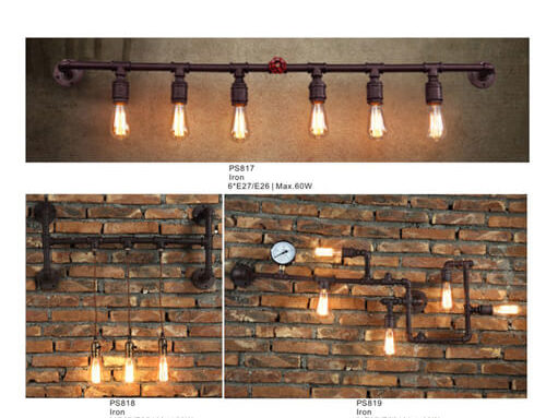 Pipe Pendant Light PS817-819
