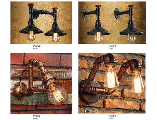 Pipe Pendant Light PS820-823