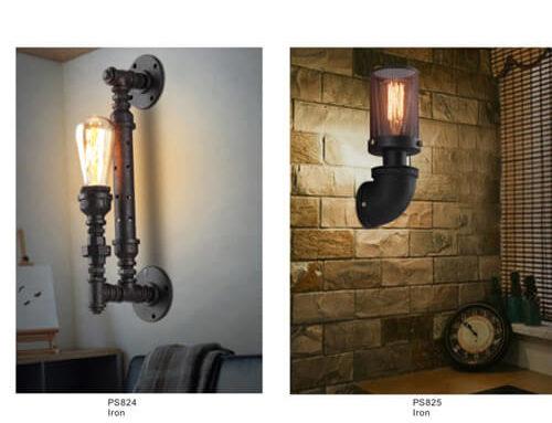 Pipe Pendant Light PS824-825