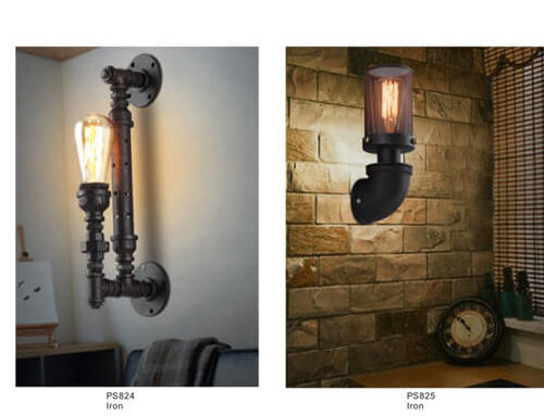 Pipe Pendant Light PS824-825
