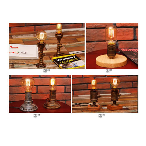 Pipe Pendant Light PS826-829