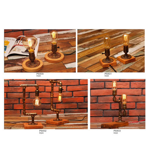 Pipe Pendant Light PS830-PS833