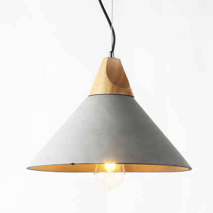 Concrete pendant light PC351