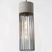 Concrete pendant light PC353