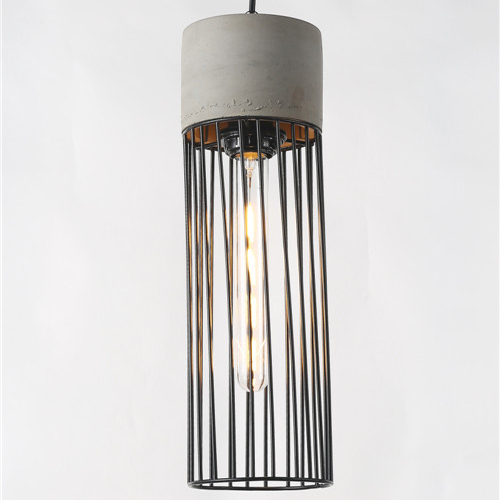 Concrete pendant light PC353