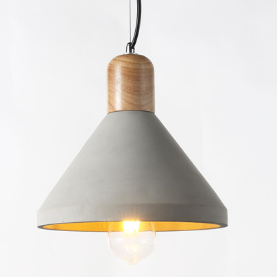 Concrete pendant light PC355