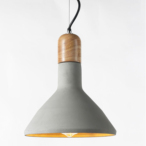 Concrete pendant light PC356