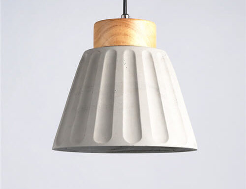 Concrete Pendant Light WSN075