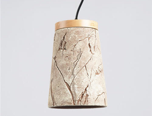 Concrete Pendant Light WSN076