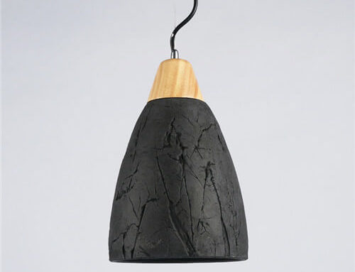 Concrete Pendant Light WSN077