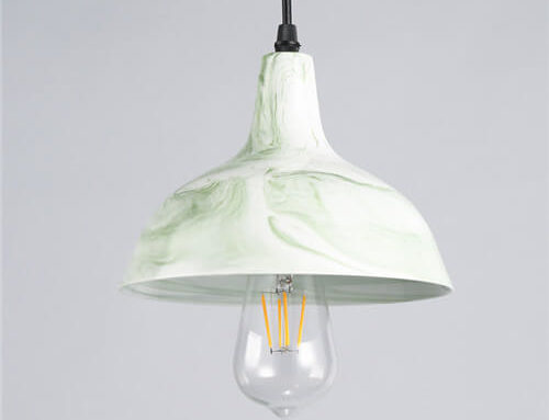 Concrete Pendant Light WSN078A