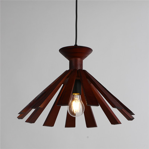 Wood Pendant Light WZL037A
