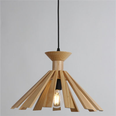 Wood Pendant Light WZL037B