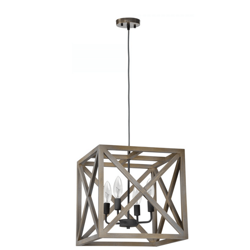 Iron Pendant Light WTY351