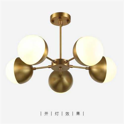 Iron Pendant Light WTY358