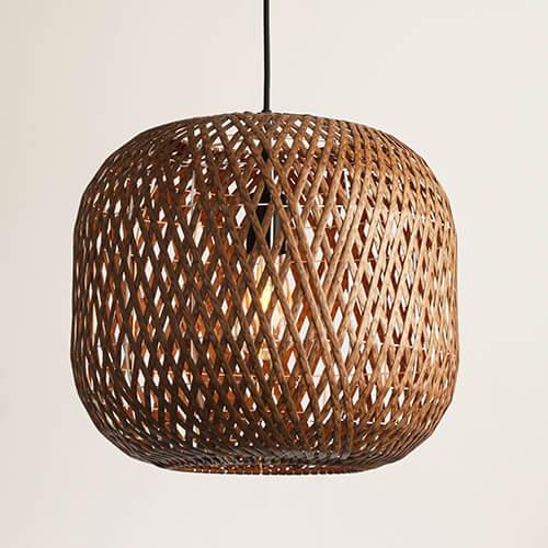 Bamboo Pendant Lamp WZL052 (3)