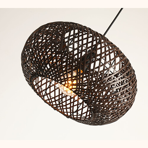 Bamboo Pendant Lamp WZL053 (3)