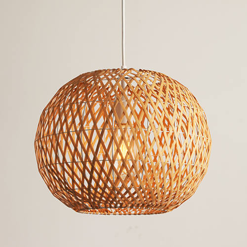 Bamboo Pendant Lamp WZL057