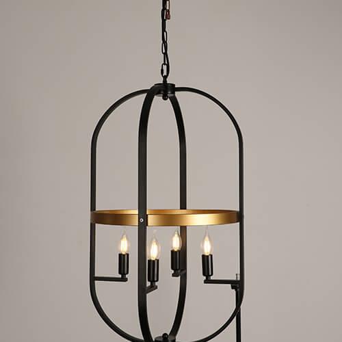 Iron Pendant Light WTY414B 1