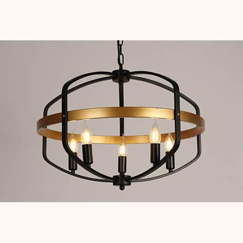 Iron Pendant Light WTY415B 1