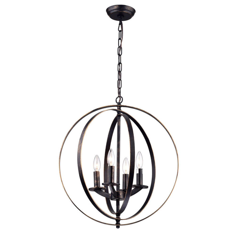 Iron Pendant Light WTY444