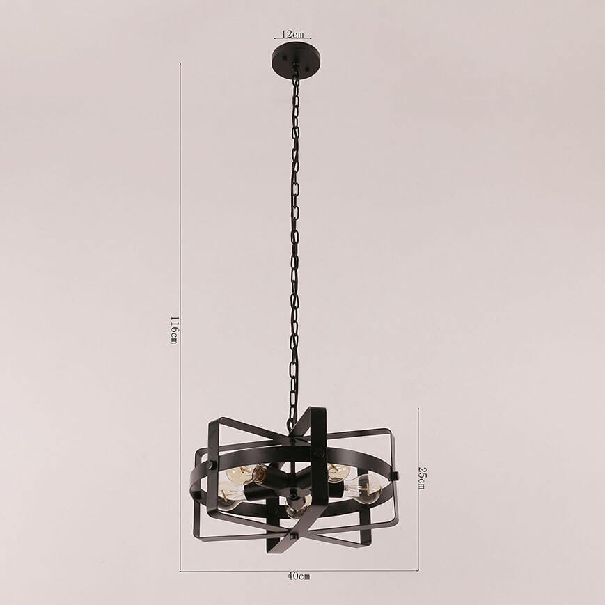 Iron Pendant Light WTY460