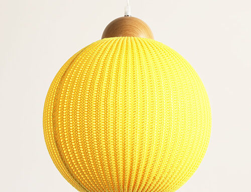 Knitting Wool Pendant Lamp  WZL064