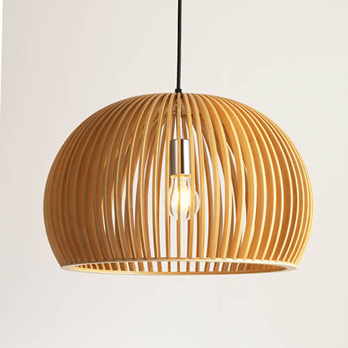 Wood Pendant Lamp WZL048D