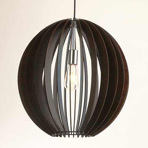 Wood Pendant Lamp WZL050B