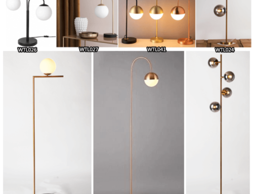 UL CUL Approved Floor Light Table Lamp from Wellin